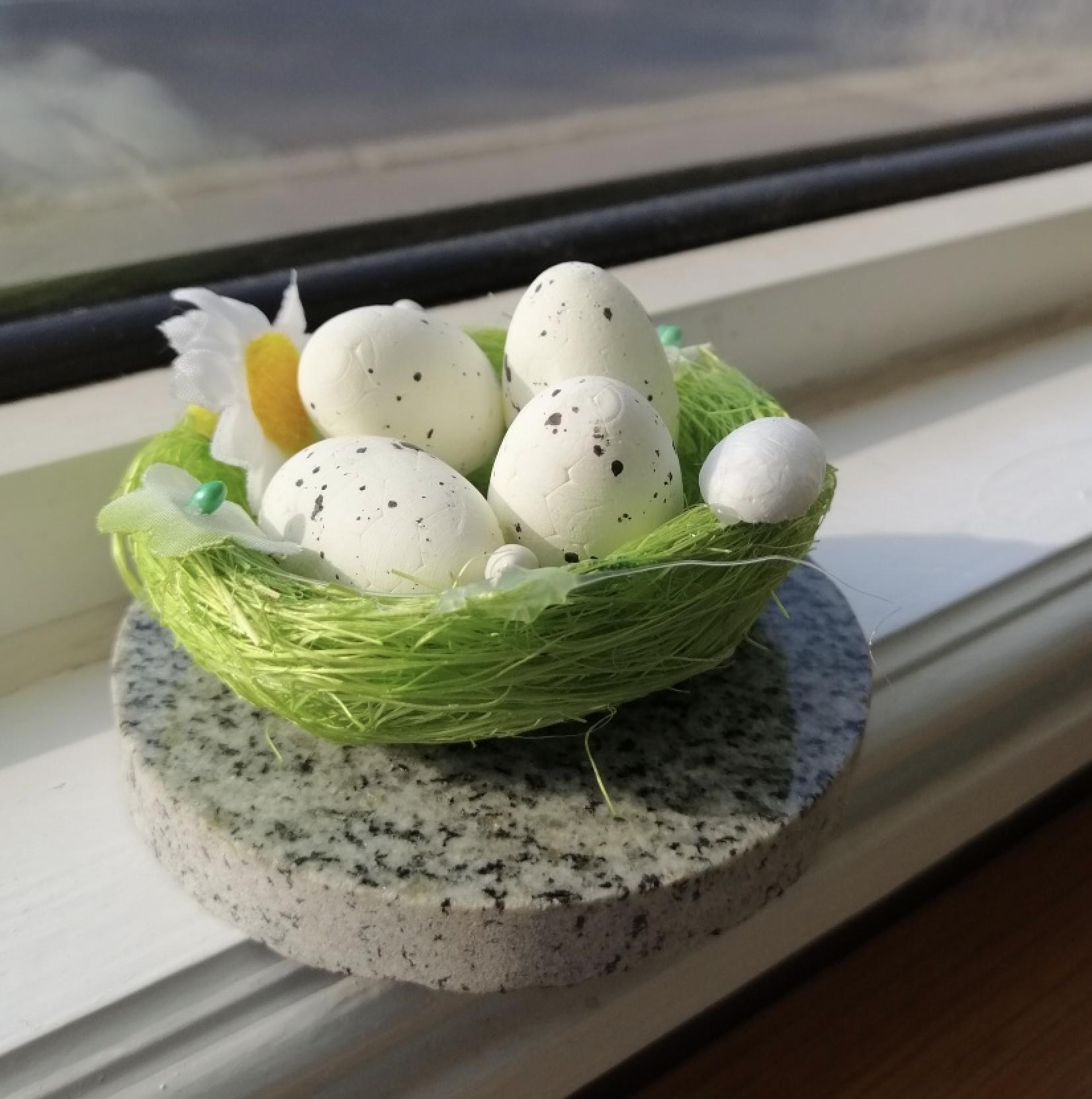 Easter eggs at Shepperton Branch