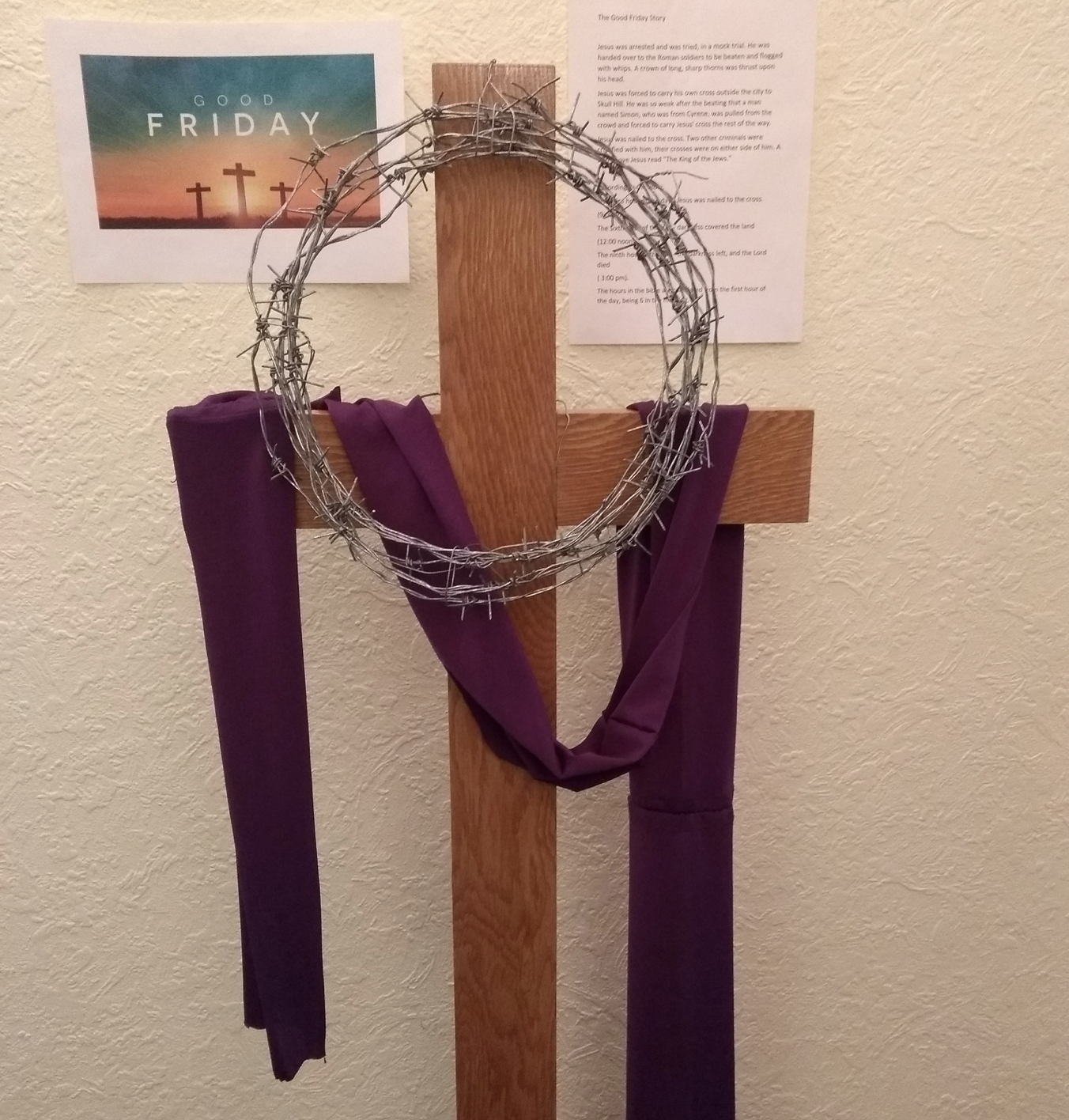 The Holy Week of Easter at Molesey Branch