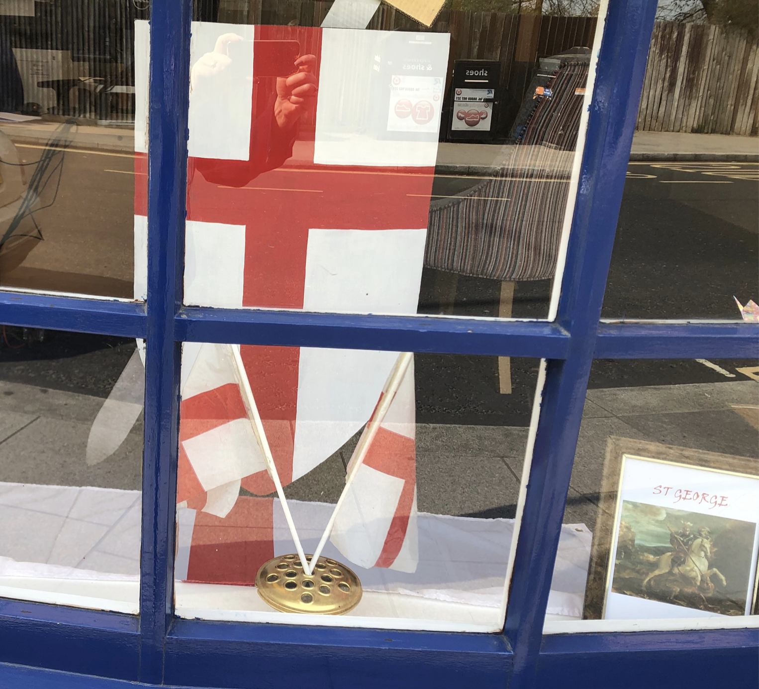 Happy St George's Day from Hampton Hill
