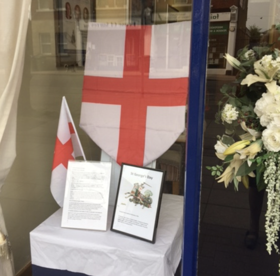 Molesey Branch Commemorates St George's Day
