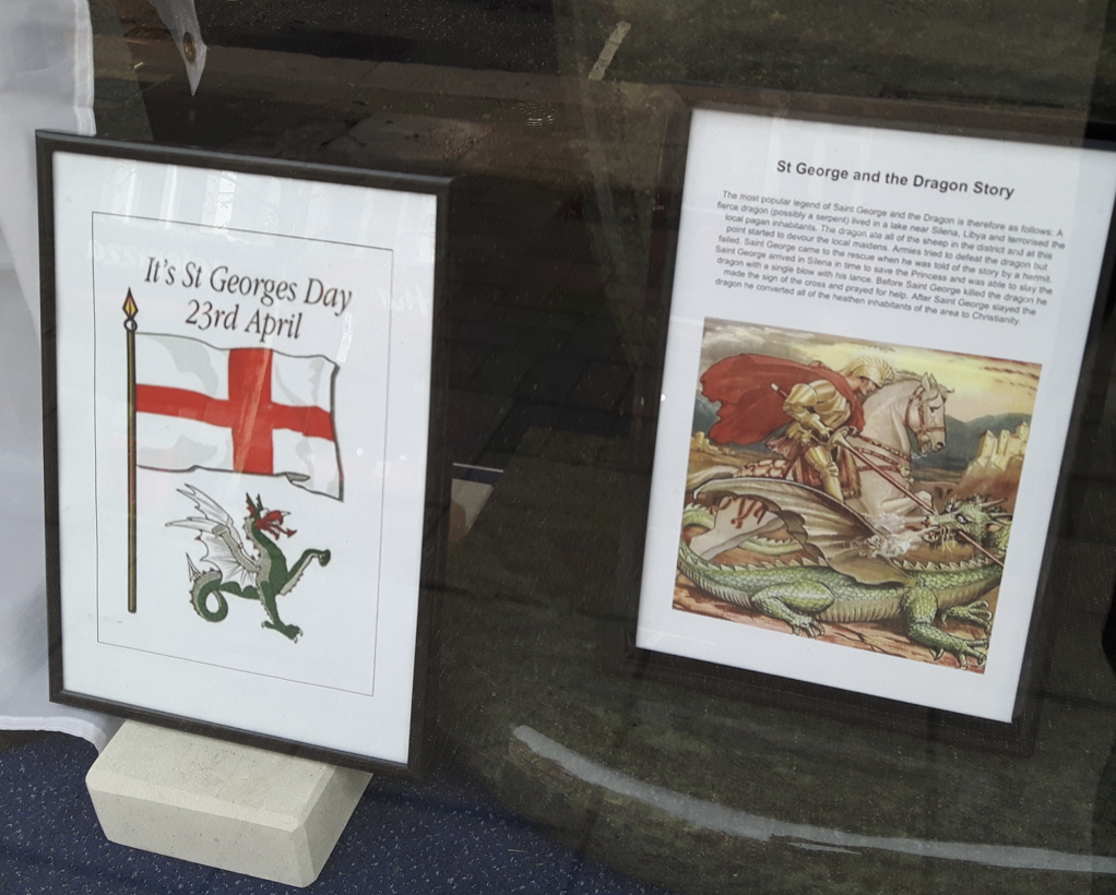 23rd April is St George's Day