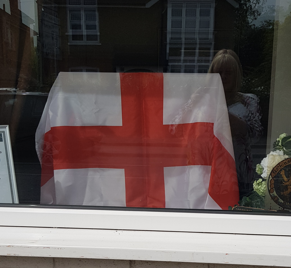 St George's Day Window – Shepperton