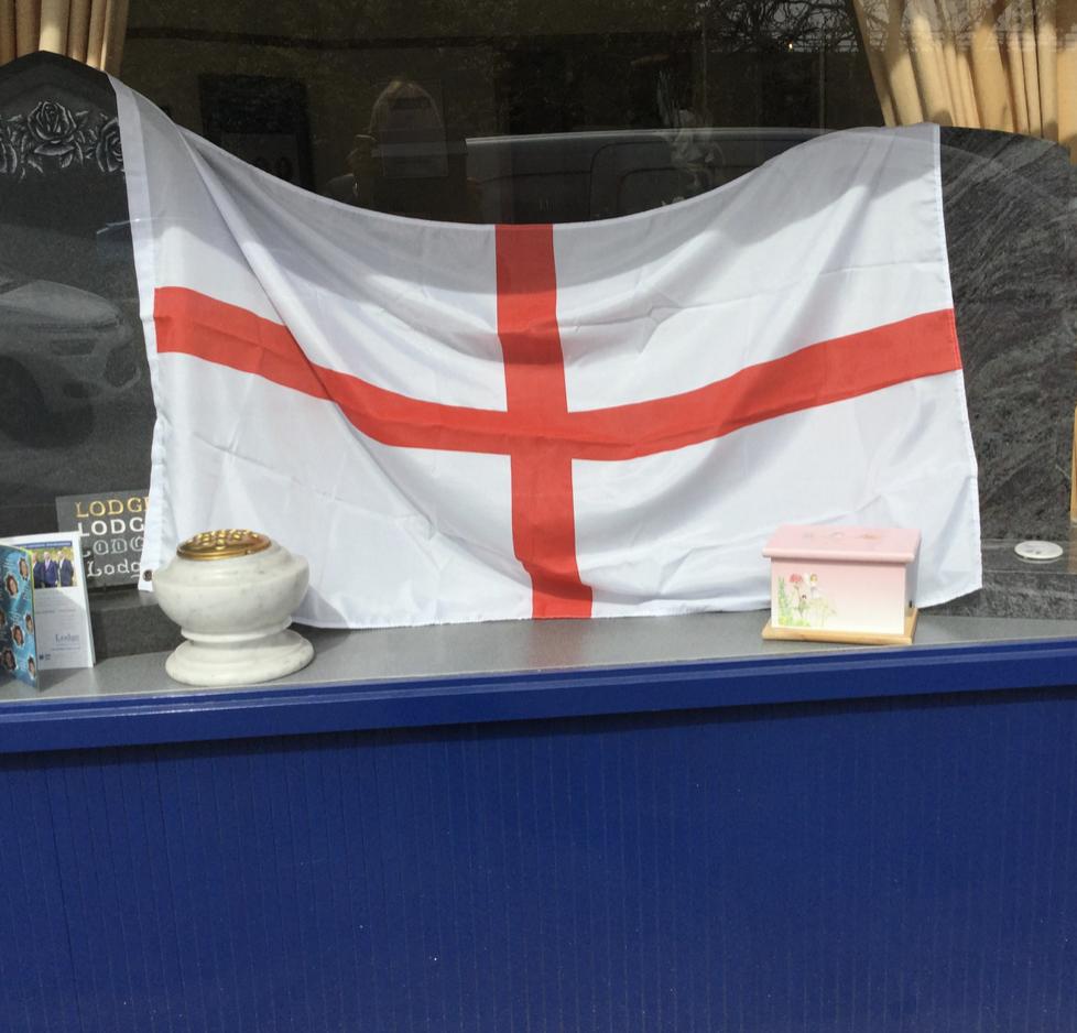 St George's Day Window – Sunbury