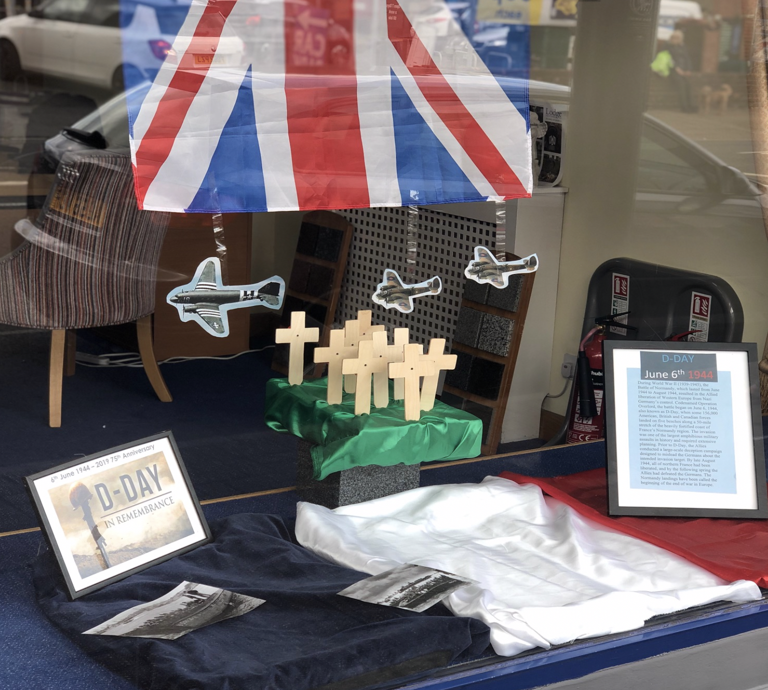 Ashford Branch Commemorates 75th Anniversary of D-Day Landings