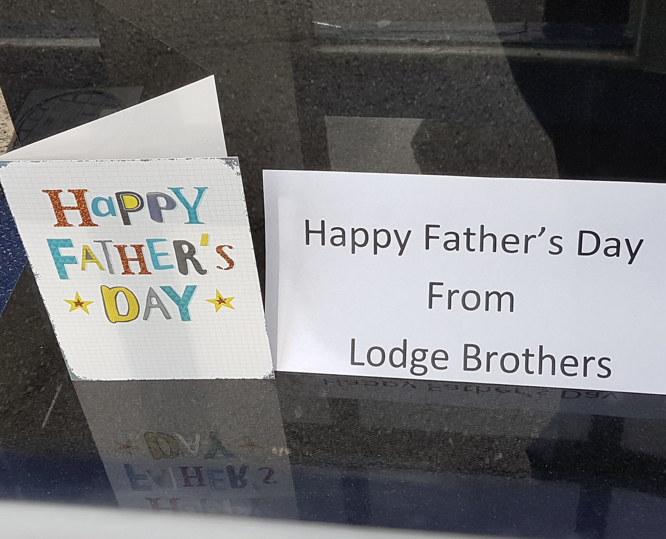 Happy Fathers Day from Thames Ditton Branch