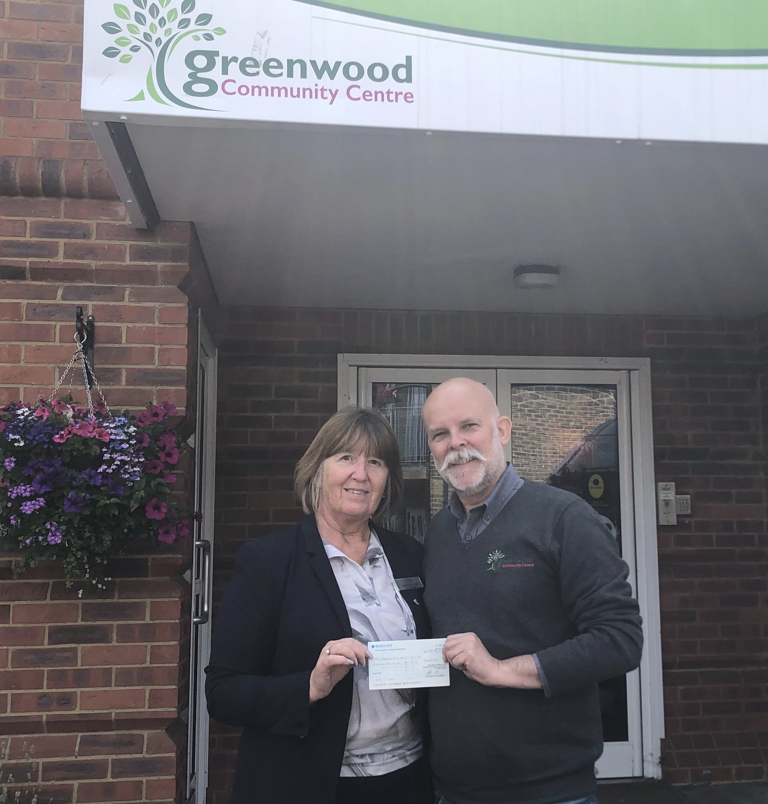 More Funds Raised for The Greenwood Centre