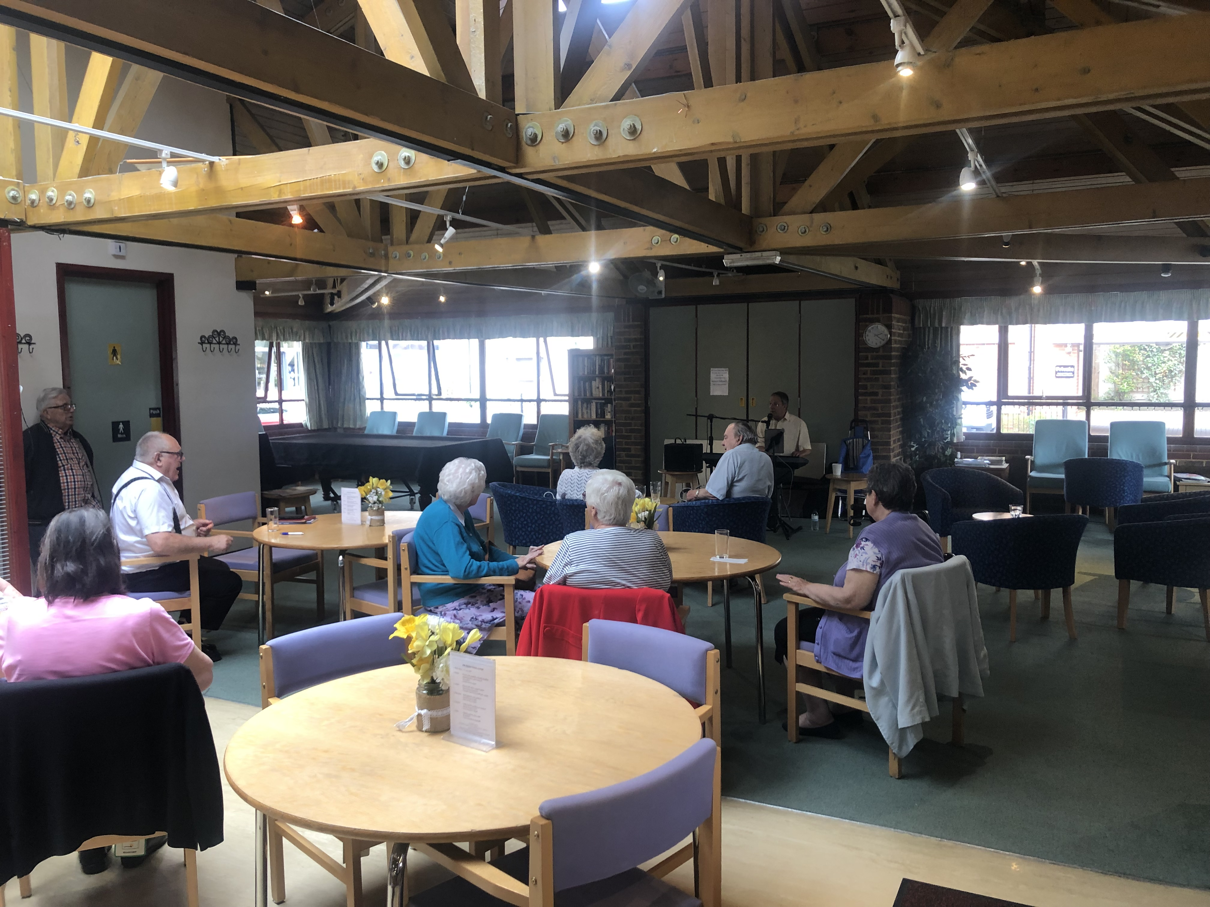 Musical Memories at Eileen Tozer Day Centre