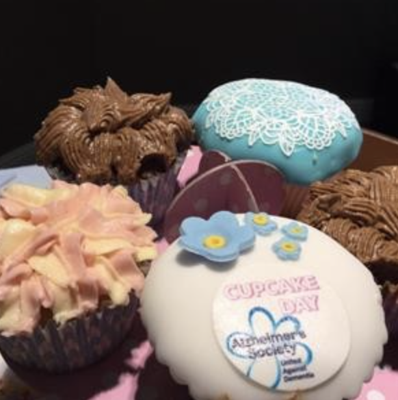 National Alzheimer Cup Cake Day at The Grange Care Home