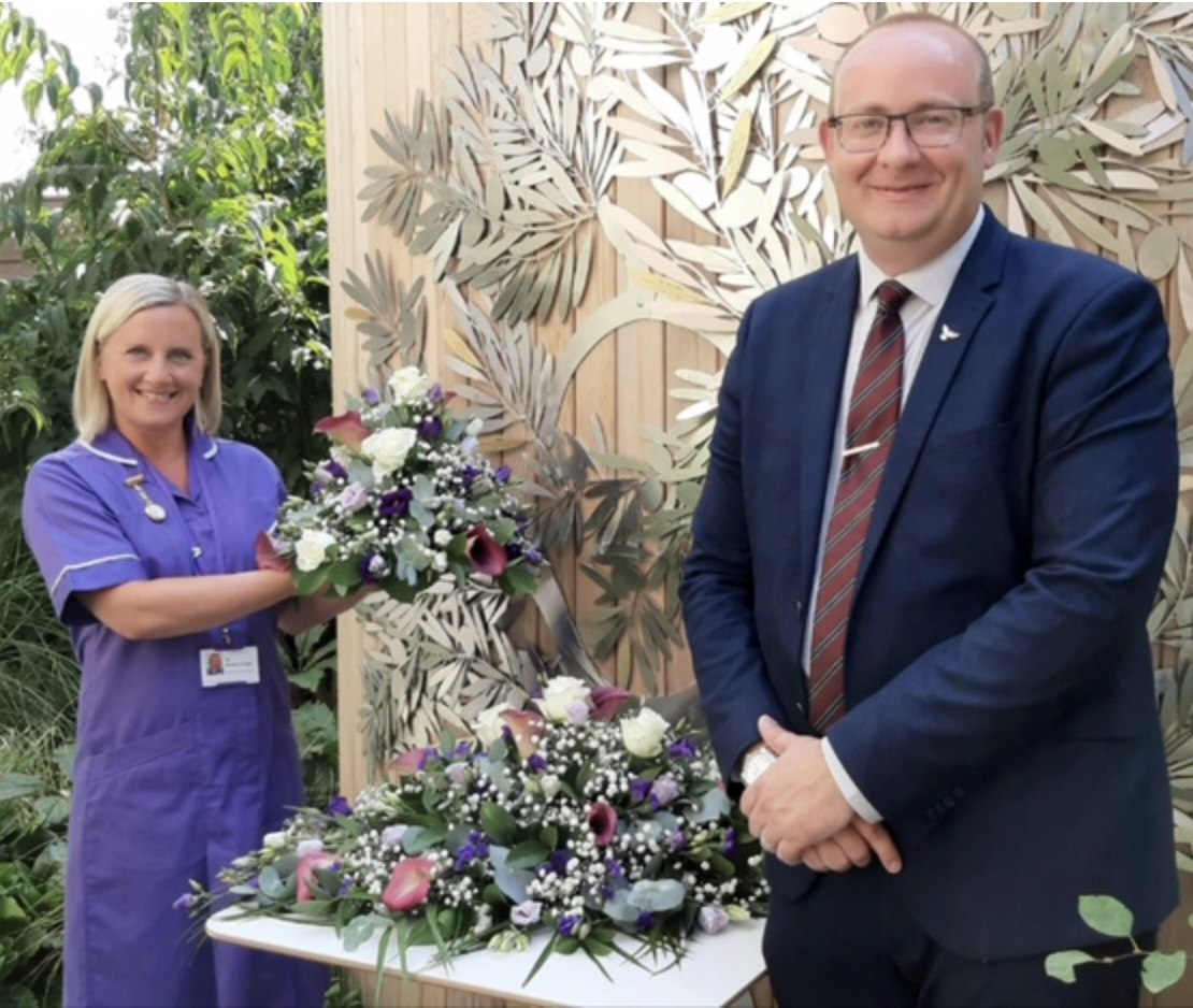 New Combined Floral Tributes & Donations Initiative at Woking & Sam Beare Hospices