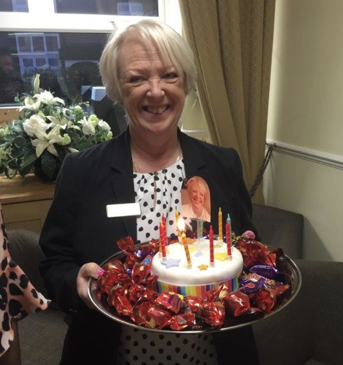 Sandra Keywood Celebrates 10 Years Service at Lodge Brothers