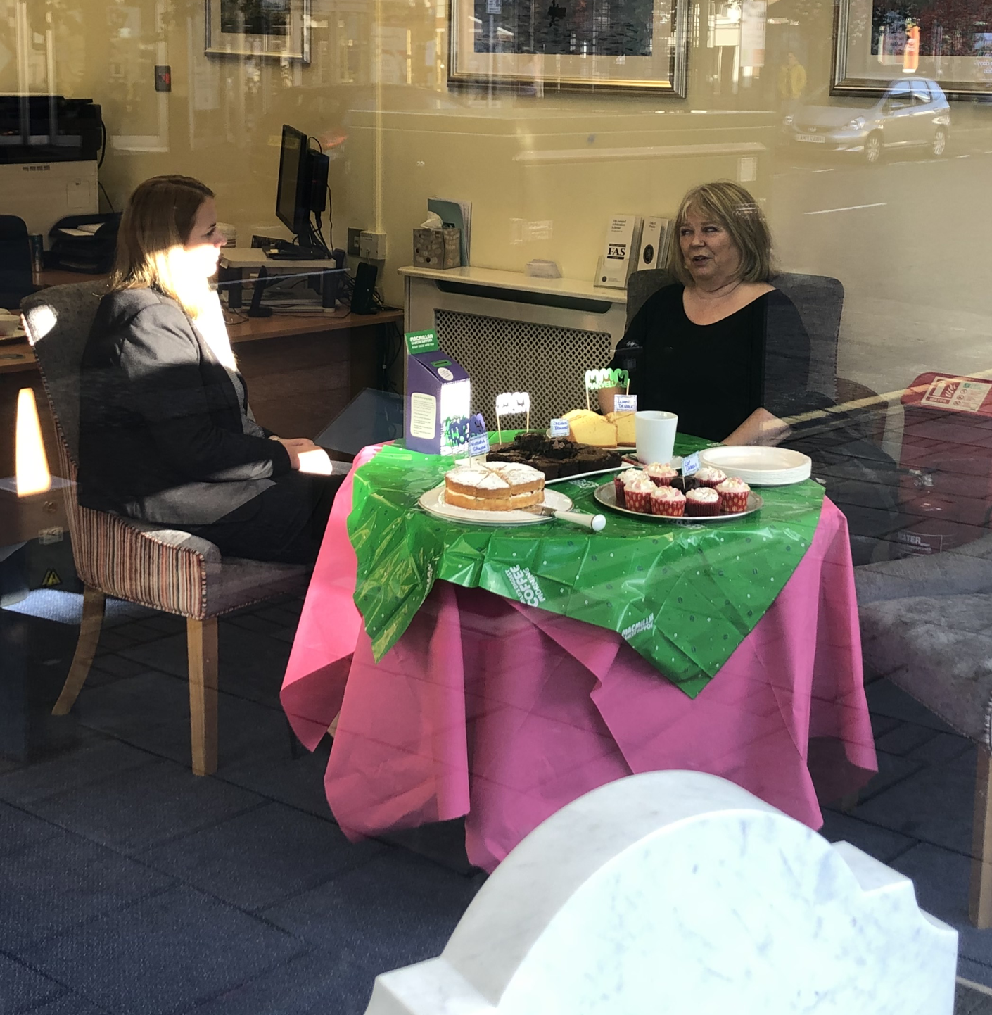 Lodge Brothers Weybridge Macmillan Coffee Morning