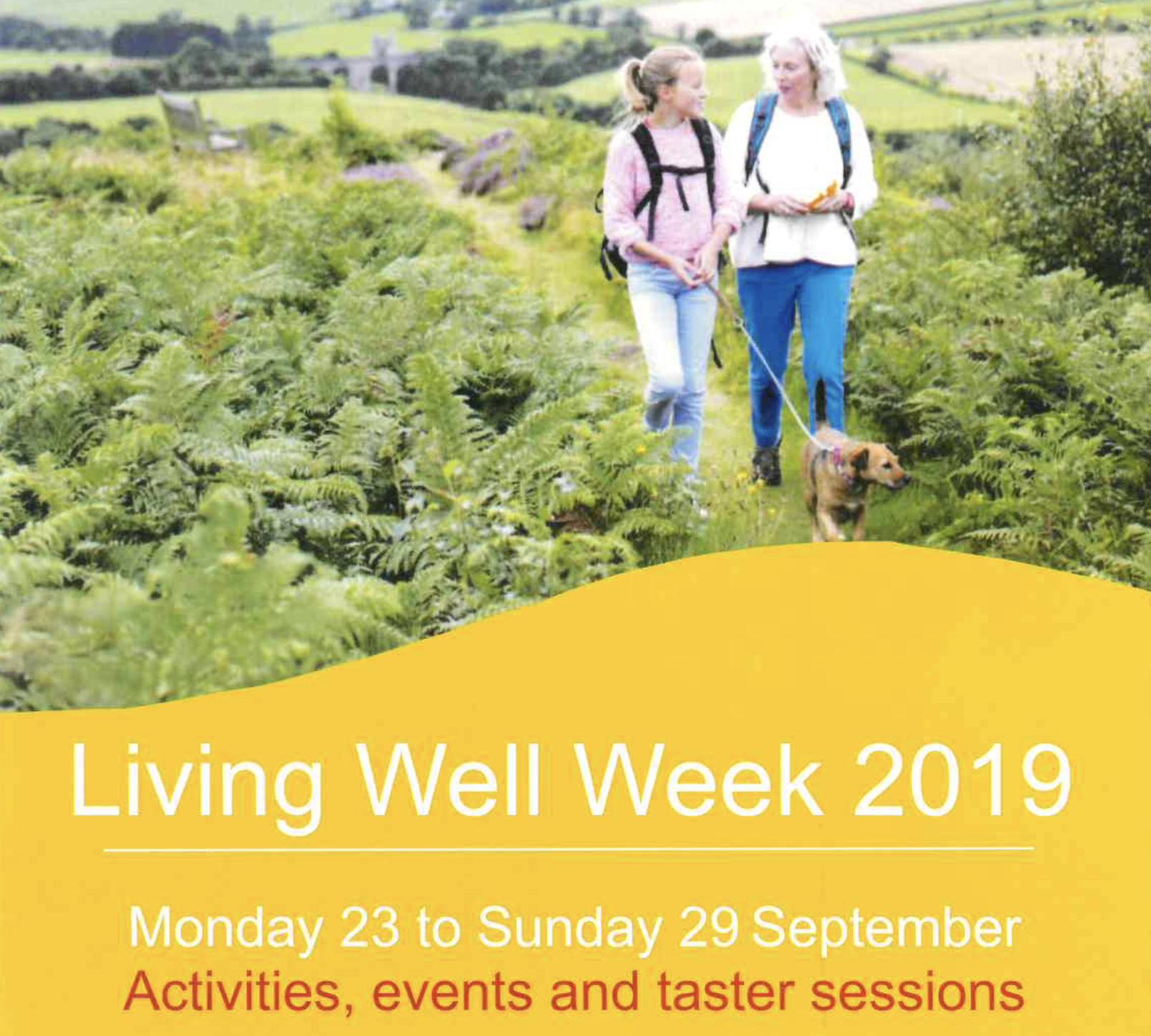 Living Well Week in Addlestone