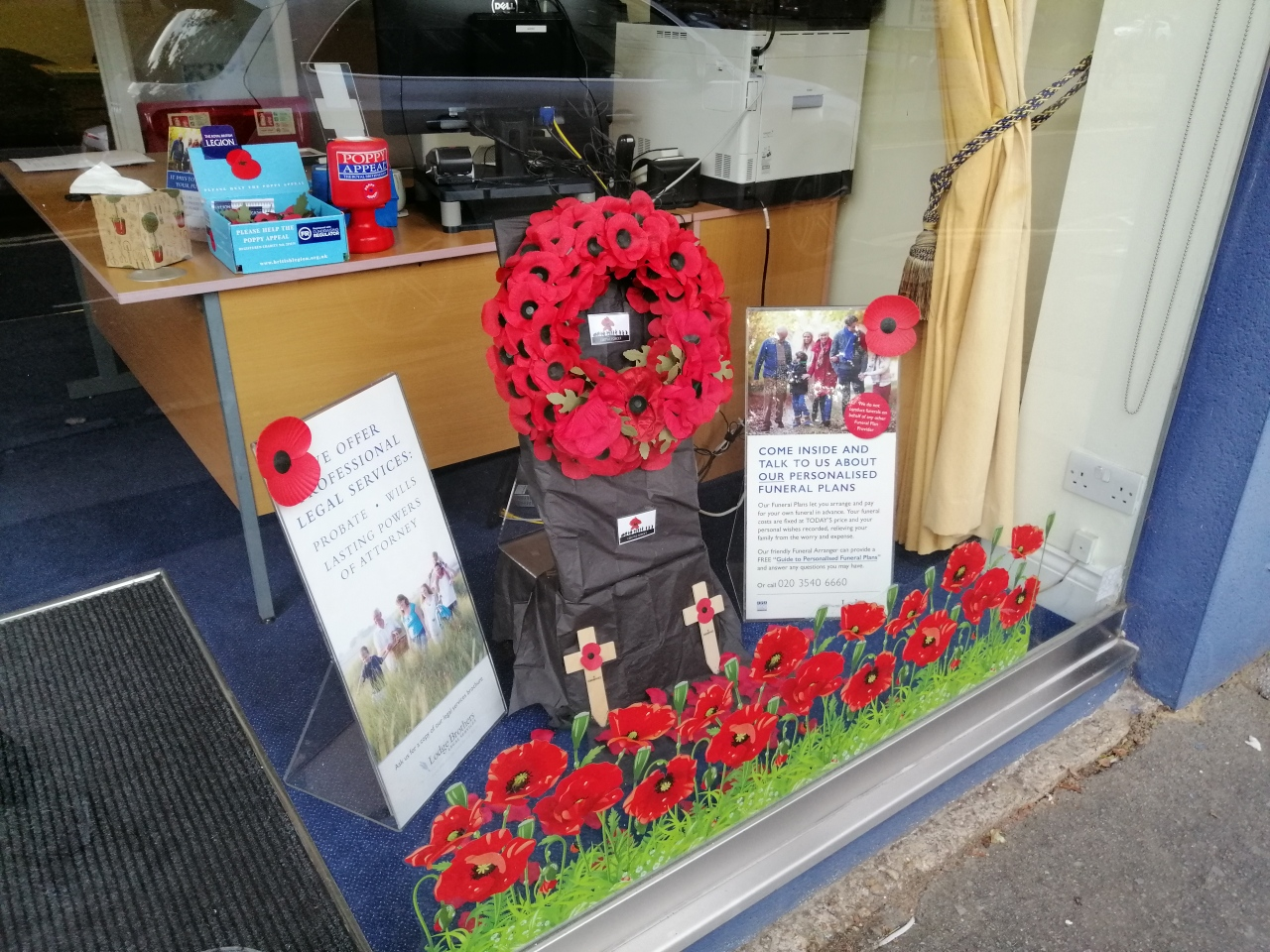 Remembrance Day 2019 Esher – Lest We Forget!