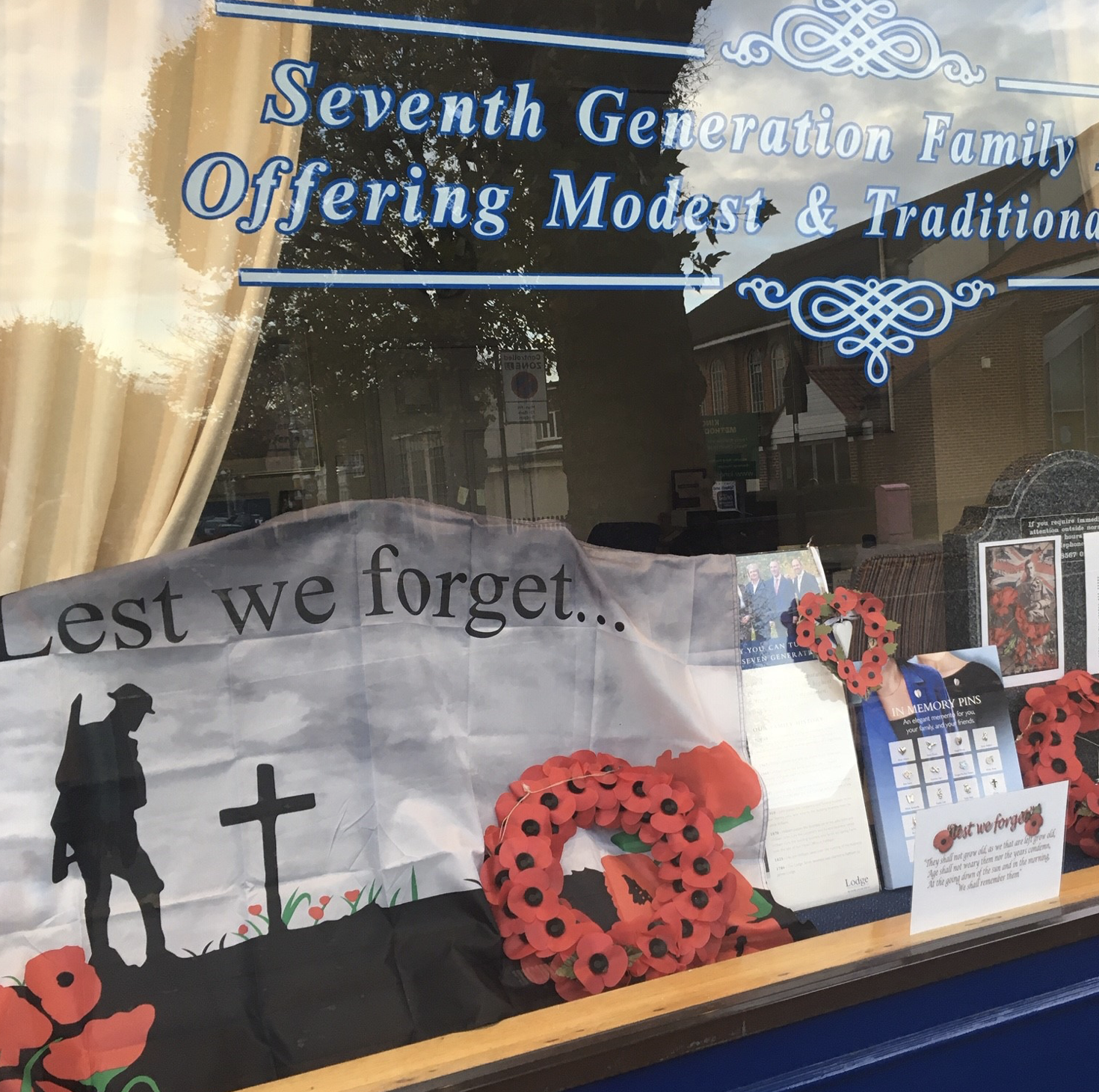 Lest We Forget at Ealing Branch