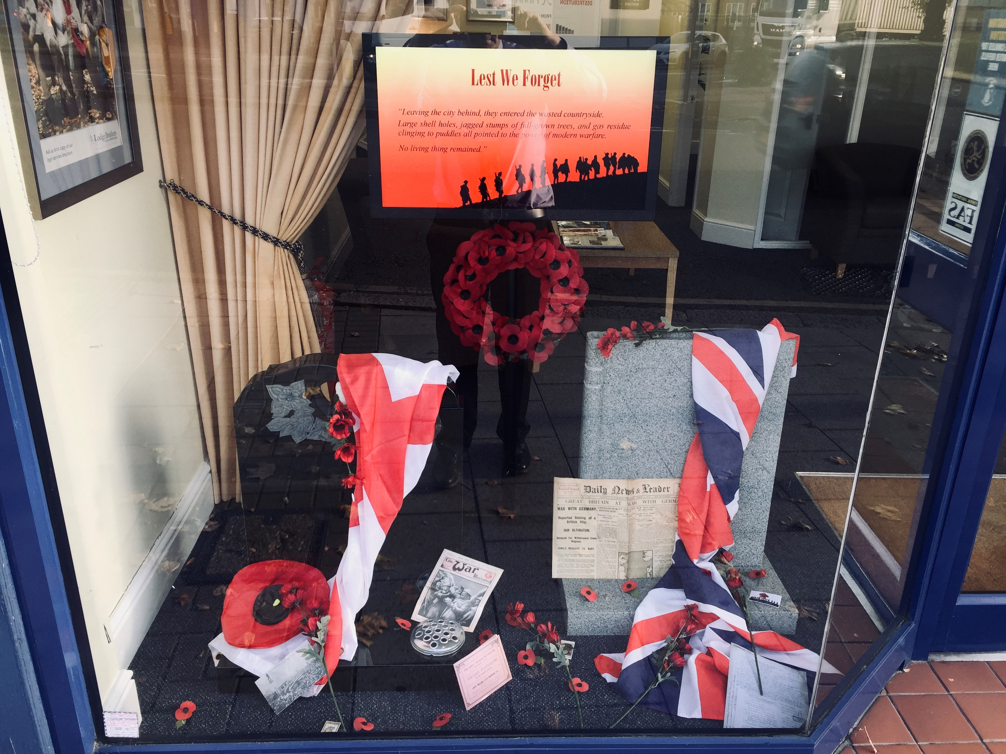 Remembrance Day 2019 Walton – Lest We Forget!