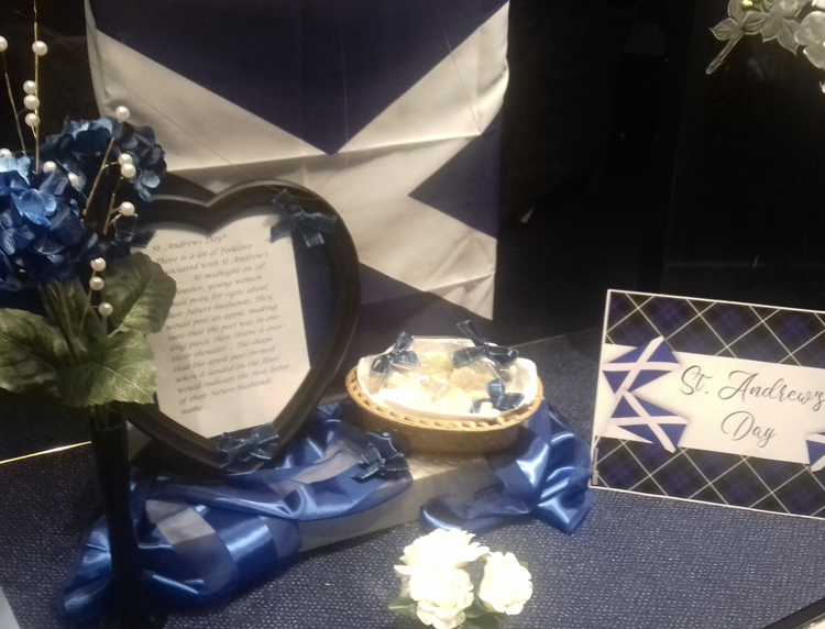 St Andrew's Day at Northolt Branch