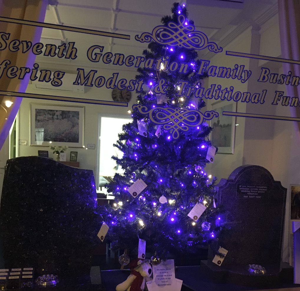 Christmas Memory Tree at Ealing Branch