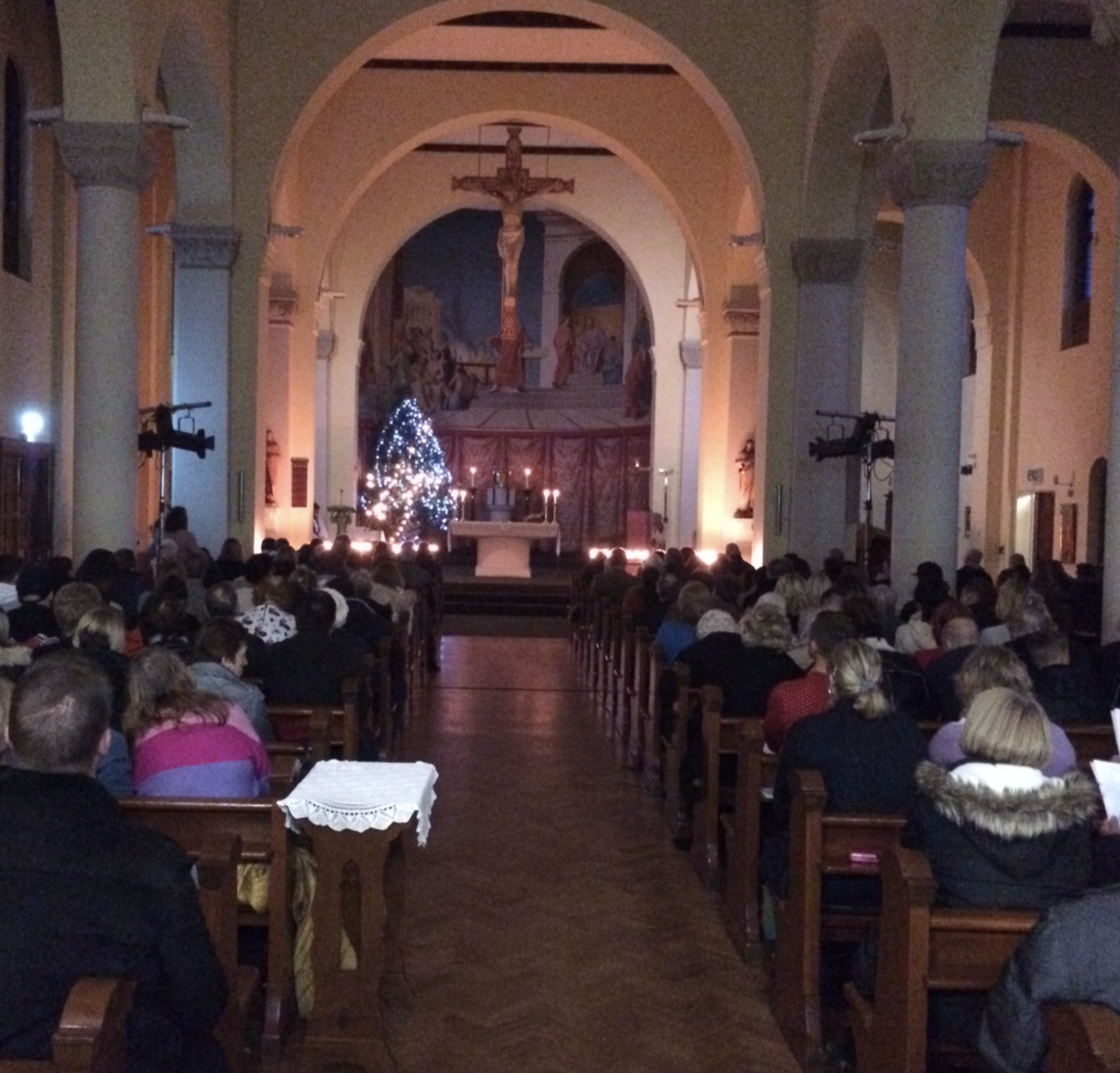 Christmas Service of Remembrance at St Lawrence Church Feltham