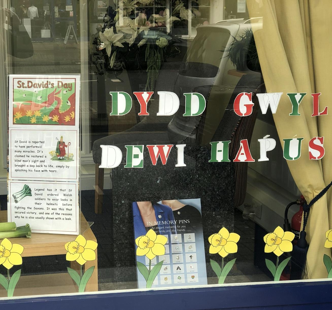 Dydd Gwyl Dewi Hapus from Lodge Brothers, Ham