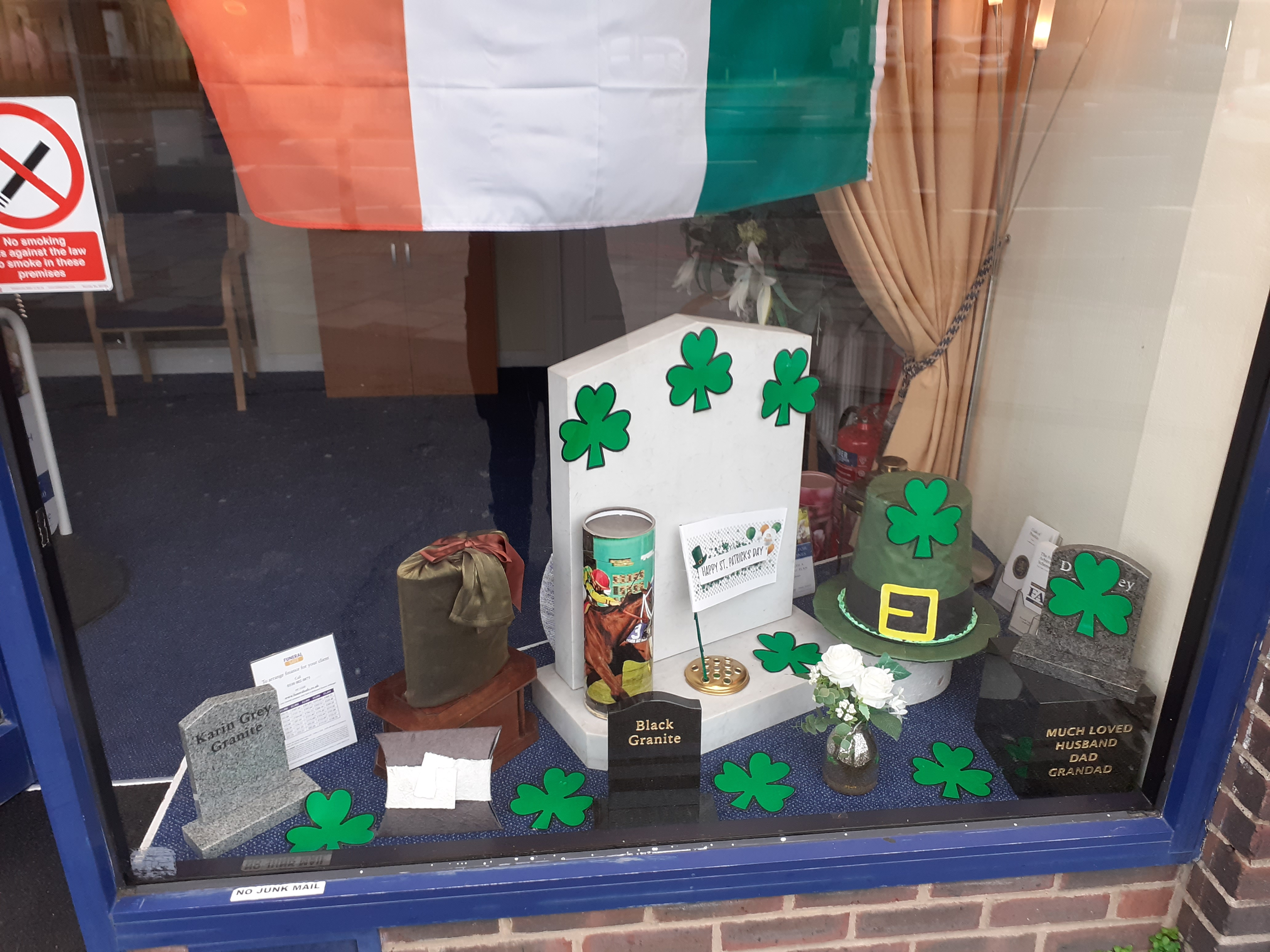 St Patrick's Day at Hanworth Branch