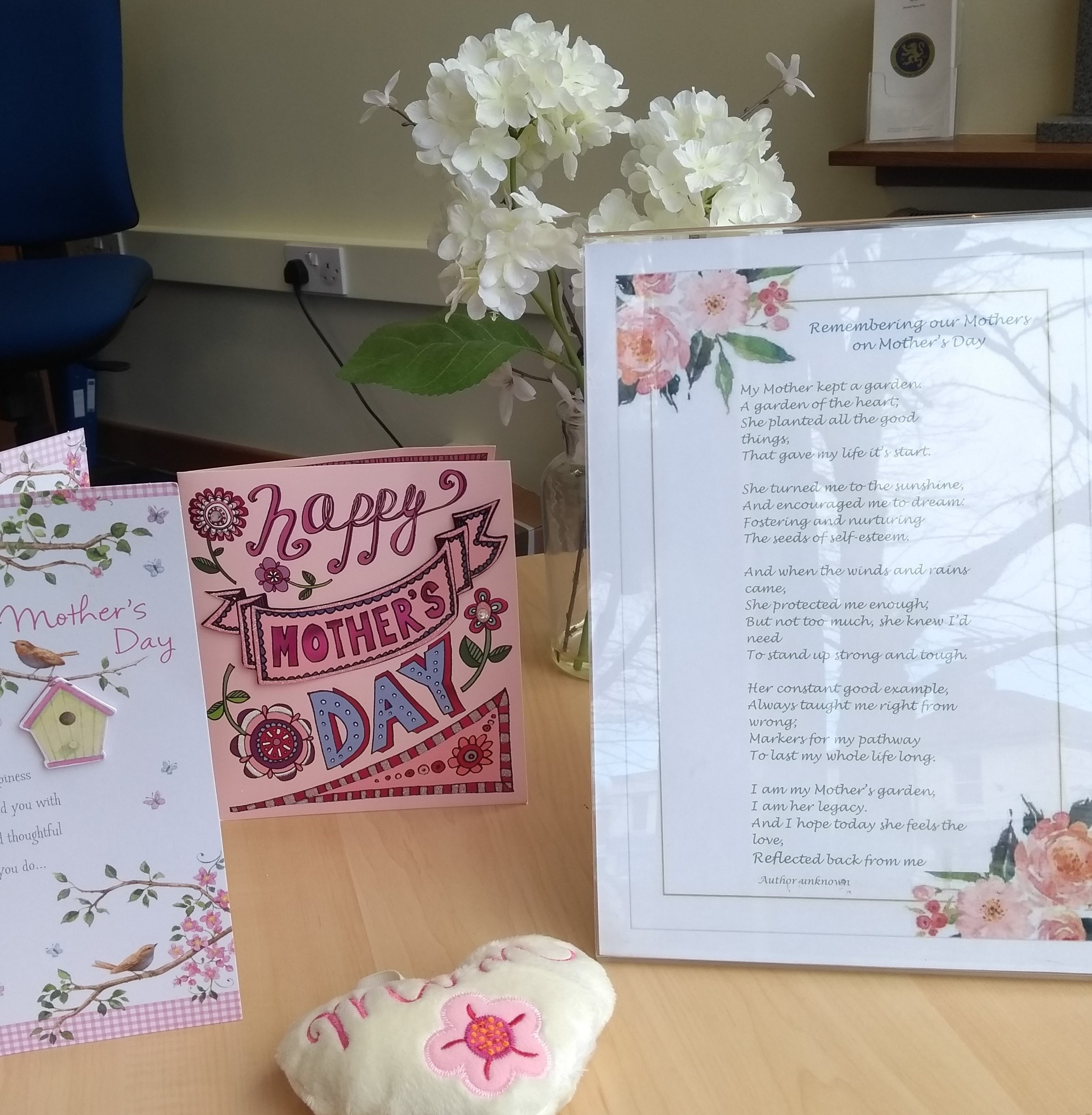 Molesey Branch Commemorate Mothers Day