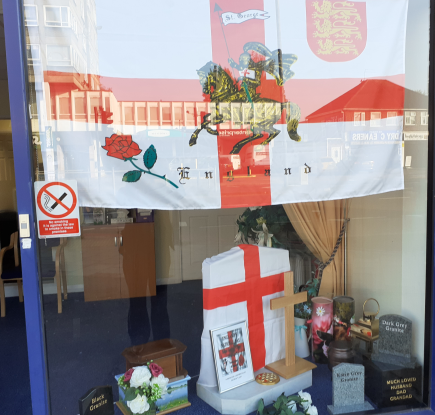 Hanworth Branch Flew the Flag for St George