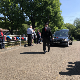 Lodge Bros & Boutell and Byfleet Boat Club Bid Final Farewell to a Member