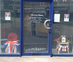 VE Day Display at New Malden Branch