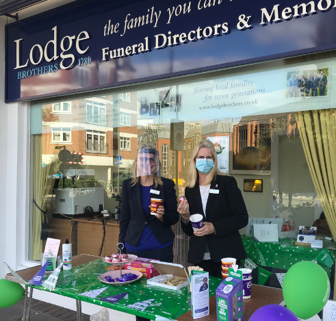 Lodge Brothers Coffee Morning Raises Money for Macmillan