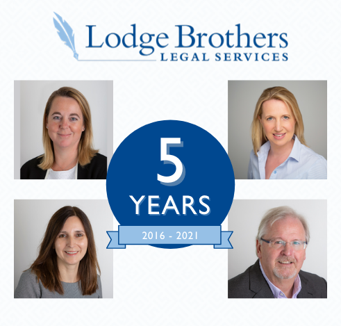 Lodge Brothers Legal Services Celebrates 5th Anniversary