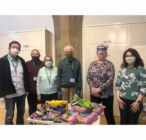 Yiewsley Office Donates to Local Foodbank