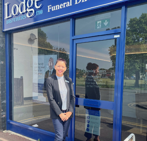 LODGE BROTHERS WELCOMES NEW ARRANGER TO THE EGHAM BRANCH