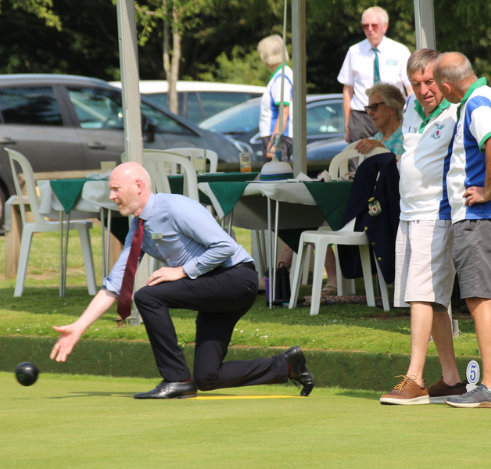 Lodge Brothers Burpham Support Bowls Club Opening
