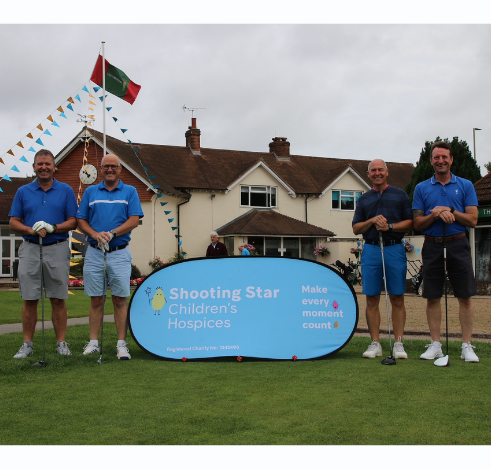 Lodge Brothers Sponsor Charity Golf Day For Shooting Stars Hospice